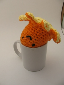 Octopus looks cute in your coffee cup
