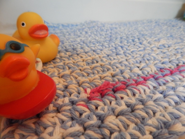 Duck Bath Mat Up Close