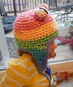 Frog Hat Side