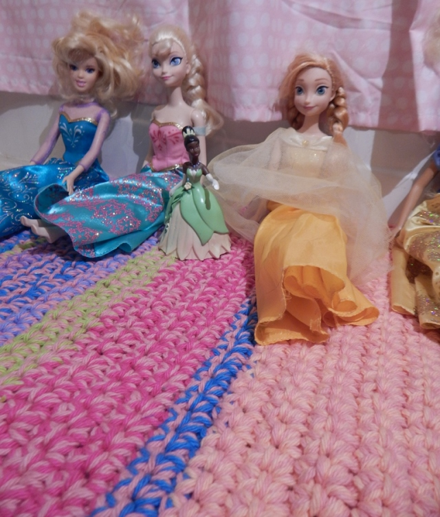 Princess Bath Mat Up Close