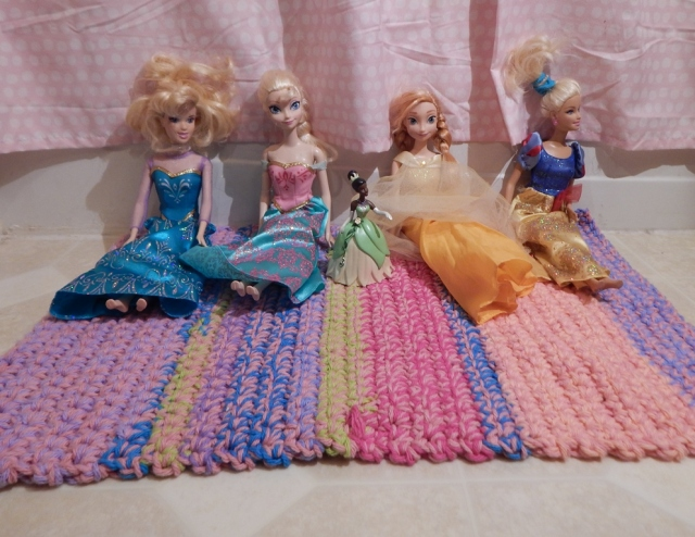 Princess Bath Mat