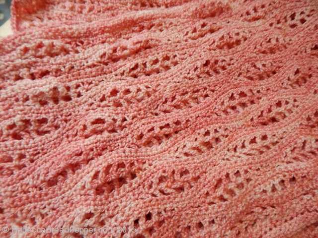 Close Up of Conch Shawl