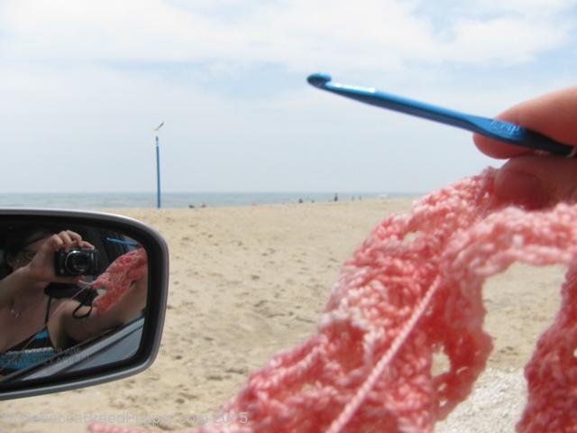 Crochet on the Beach