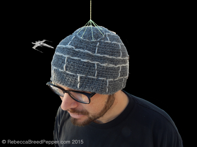 Death Star Hat With Laser