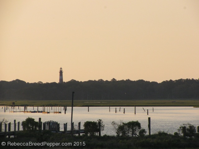 Lighthouse from Chincoteague