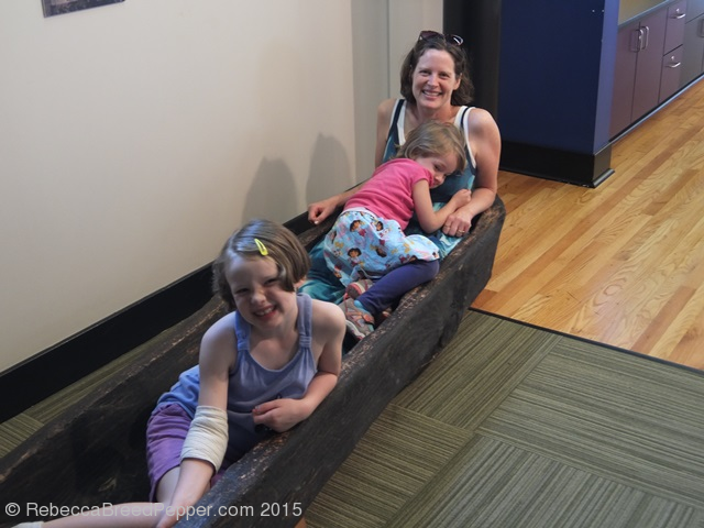 In a Dugout Canoe
