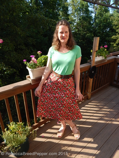 strawberry skirt 2