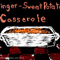 Ginger-Sweet Potato Casserole