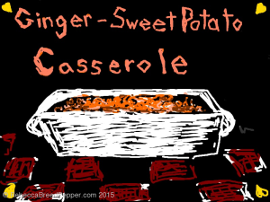 Ginger Sweet Potato Casserole 20151110