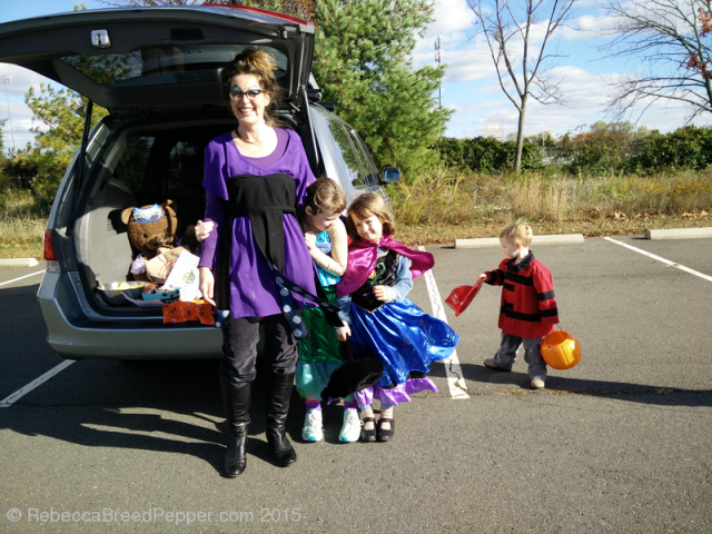 Trunk or Treating with Ursula