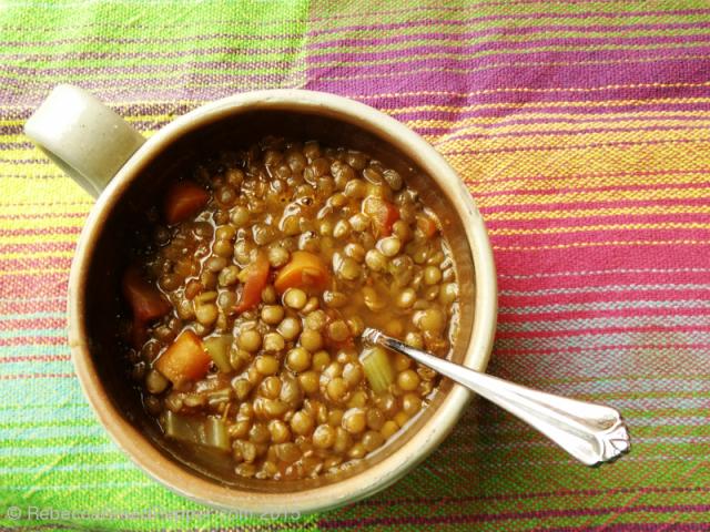 Lentil Soup 20151231