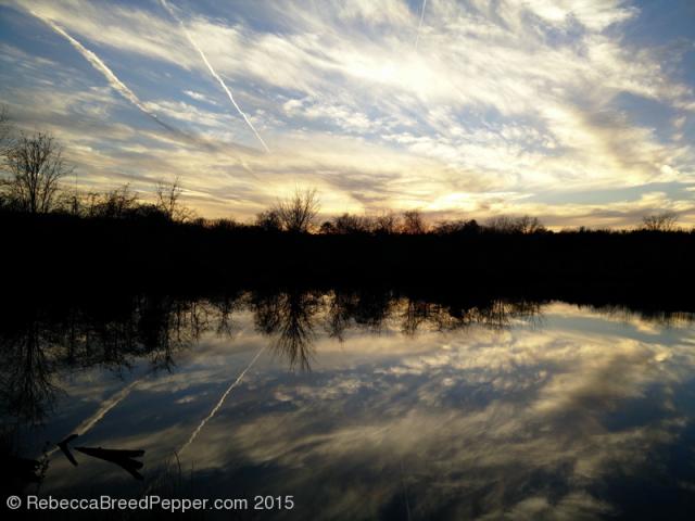 Sunset 20151227
