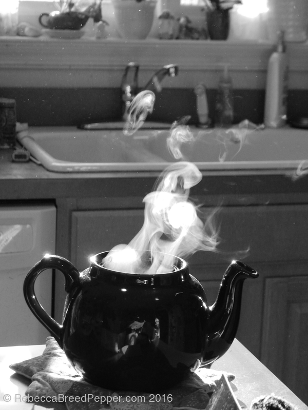 Warm Tea B&W 20160105