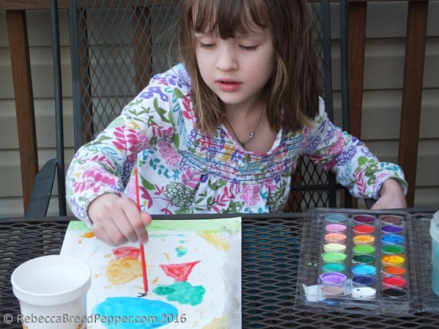 Abigail Painting