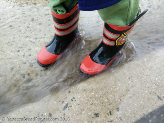 Boots in Water