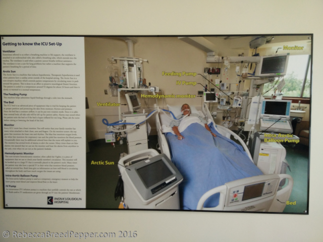 ICU Set Up Poster