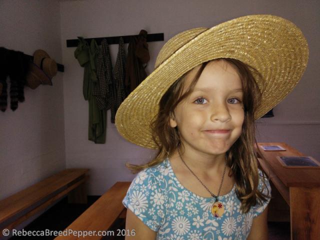 Abigail in a Hat
