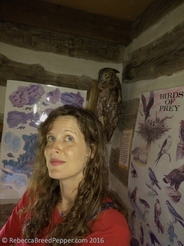 Becca and Owl