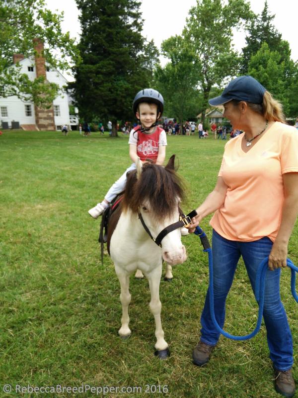Henry on a Pony