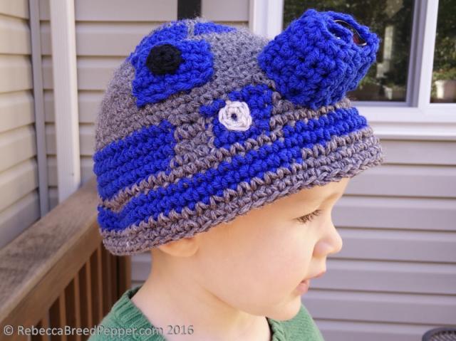 The R2d2 Hat Rebecca Breed Pepper