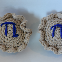 Crochet Pattern: Pie for Pi Day