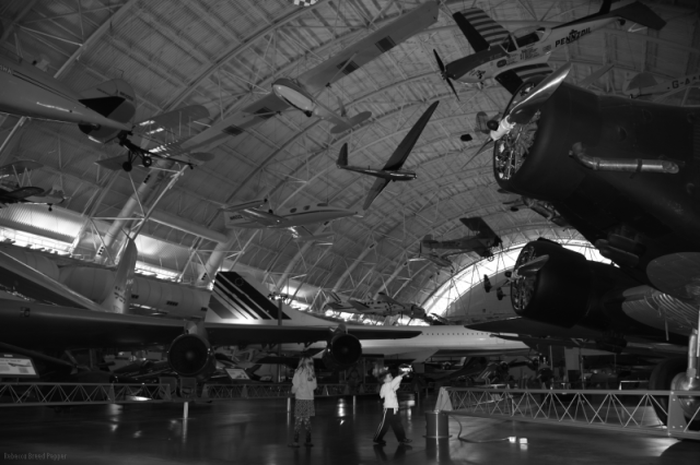 Planes and Height B&W