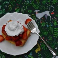 Strawberry Pound Cake (Gluten Free, Dairy Free)